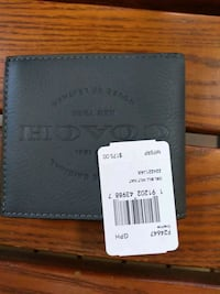 Grey Coach wallet new Asheville, 28806
