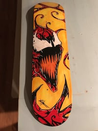 brown and red wooden snowboard deck Addison, 60101