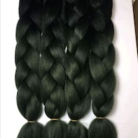 2 tone color braiding extensions  Fort McMurray, T9H 4K1