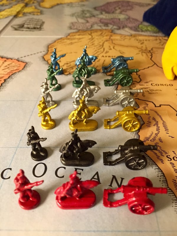 Risk Collectors' Edition 40th Anniversary Board Game 39e58ce3-a447-4a49-8ff5-75e0d98a49a0