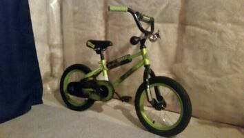 Kids ninja turtle bike