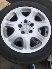Mercedes e class wheels 205 55 r16 Waterloo, N2K 2K8