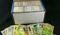 Lot of 1000 random Pokemon trading cards Victoria, V8T 2E5