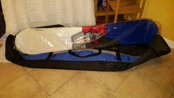 Snowboard and bag- New