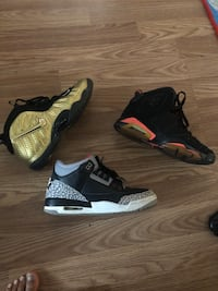 Jordan shoes size 5 Charlotte, 28214