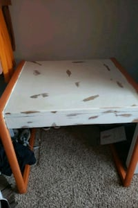 desk, hand painted and sanded Casper, 82609