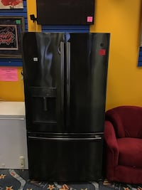 GE Steel Grey Fridge