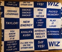 Authentic Wiz Khalifa Merchandise Flag.   La Vergne