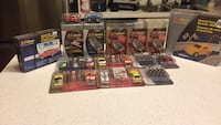 Assorted die-cast car toys in box Surrey, V3T
