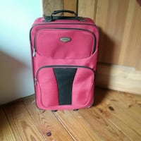 Red luggage bag Oneonta, 13820