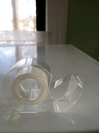 round clear glass bowl with box Boston, 02196