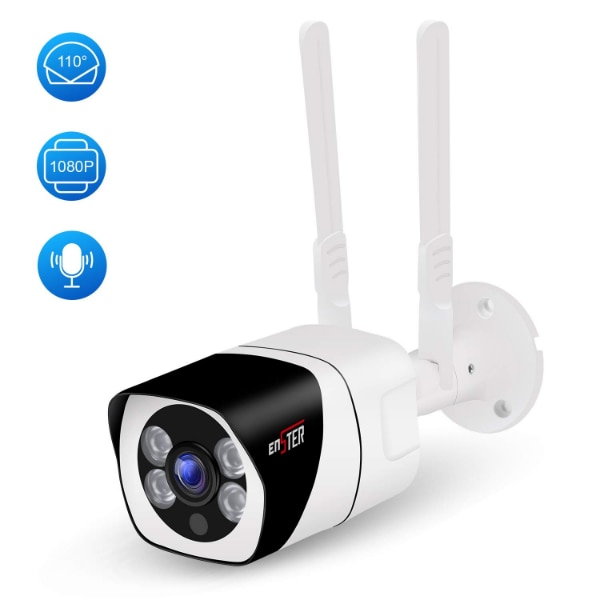 New ENSTER Dual Band 2 4/5 GHz WiFi Security Camera 1080P, 110°Wide Angle,  Two-Way Audio, Motion Detection, Waterproof, Night Vision, FTP, Support Max