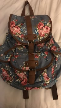 gray and pink floral backpack San Luis Obispo, 93401