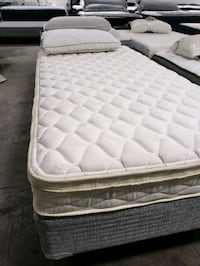 Twin mattress Eurotop plush