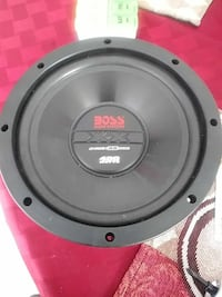 gray Boss subwoofer