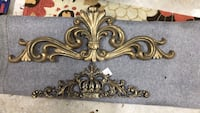 Gold/Iron King & Queen Decor selling as a Lot