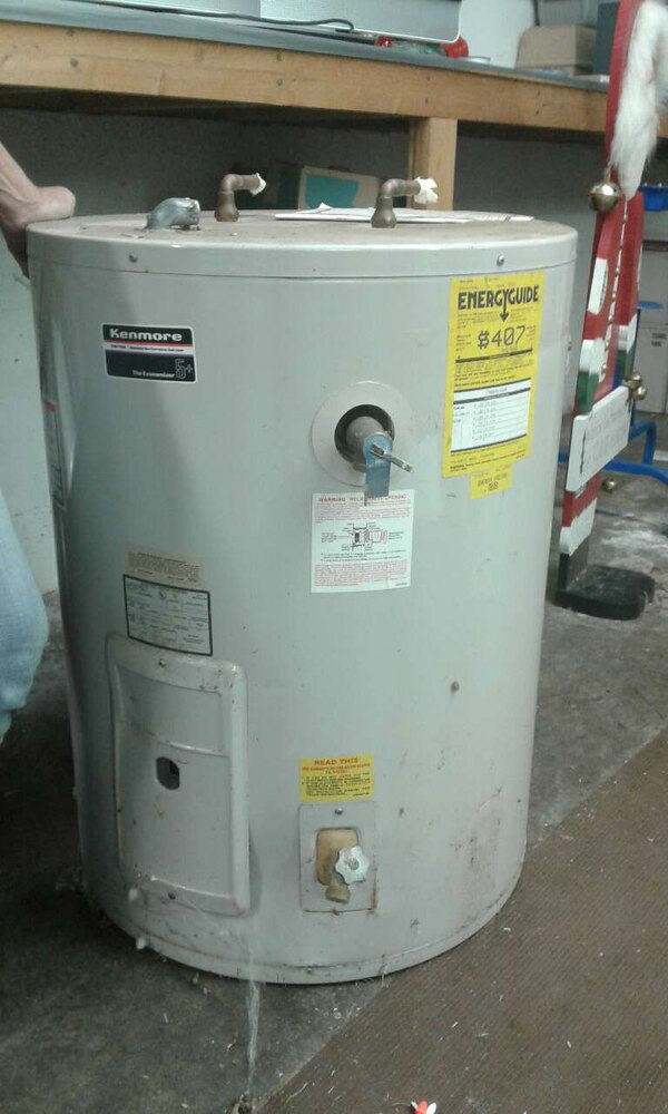Used 41 47 Gallon Electric Water Heater For In Coupeville