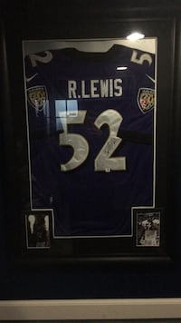 Ray Lewis autograph jersey Parkville, 21234