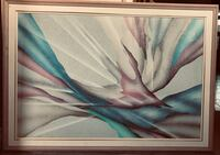 Abstract painting, framed Vaughan, L4J 8B4