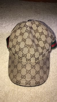 Used brown and black monogrammed Gucci cap for sale in Atlanta - letgo d044a2404c0