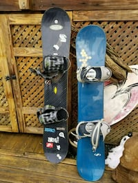 blue and black snowboard with bindings Gainesville, 20155