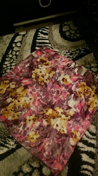 pink, white, and green floral textile Toronto, M3H 5Y8