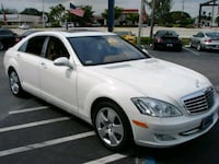 white Mercedes-Benz sedan Woodbridge, 22193