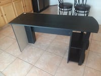 Used desk with bookshelves North Las Vegas, 89031