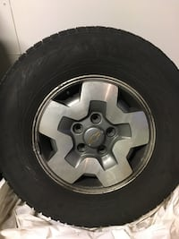 Blazer/Jimmy Rims and Winter Tires Nokian Hakkapeliitta R2