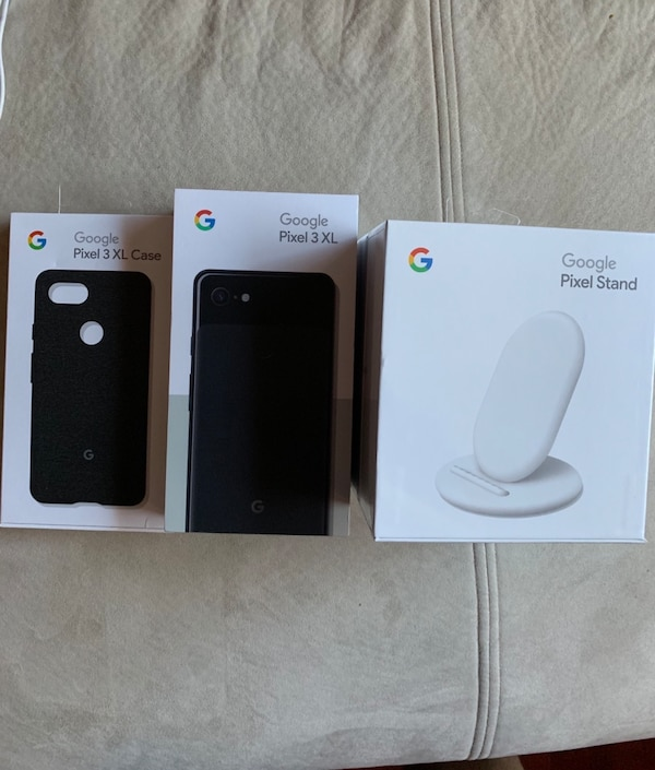 brand new be795 dc63c Pixel 3 XL with Pixel Stand Wireless Charger and Google Branded Case
