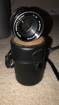Black mamiya camera lens with case Ashburn, 20148