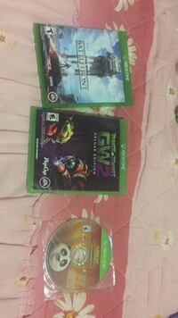 three Xbox One game cases South Bend, 46619