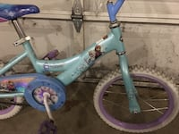 toddler's blue and white bicycle 405 mi