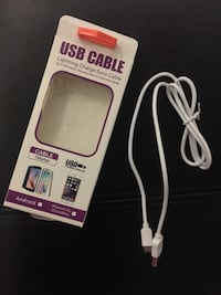 New, unused ANDROID USB cable East Haven, 06513