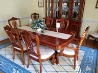 Cherry wood dining room set Woodbridge, 22192