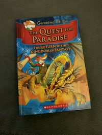 Geronimo Stilton - Quest for Paradise (hardcover )  Toronto, M5R 2R4