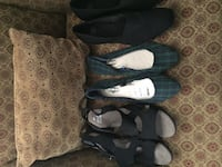 Three pair ladies size 10 new shoes with and without tags