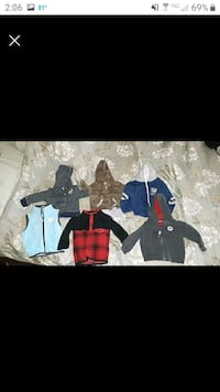 fall jacket lot size 12 months  Red Lion, 17356