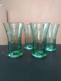 Coca-Cola Green Glass Glasses Clearwater, 33765