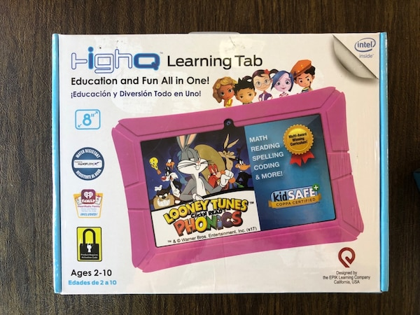 Epik High Q Tablet for Kids (Pink)