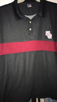 MSU Russell Athletic short sleeve/ new/ XL Pearl, 39208