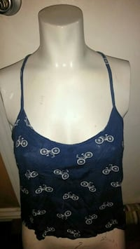 Tank Top / Crop Top with Bicycles Ventura, 93003