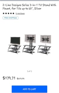 Tv Stand With Tilt Tv Mount 3 Pieces  Independence, 64056
