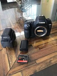 Black canon eos rebel dslr camera Washington