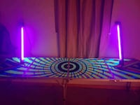 Black Light Reactive Beer Pong Table Cranberry Township, 16066