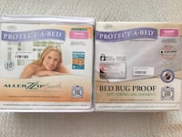 Two protect-a-bed  bed bug mattress & box sping covers bnib  Vaughan, L4K
