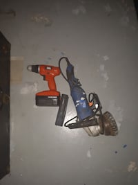 Crdls drill angle grinder