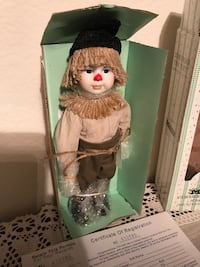 "Collectible vintage estate Seymour Mann storybook limited edition collection Wizard of Oz ""Scarecrow"" 2350 mi"
