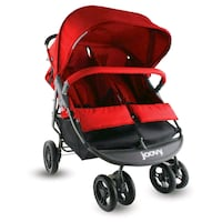 baby's red and black jogging stroller Brooklyn, 11216