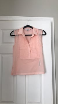 EUC Peach Sleeveless Top Clarksburg, 20871